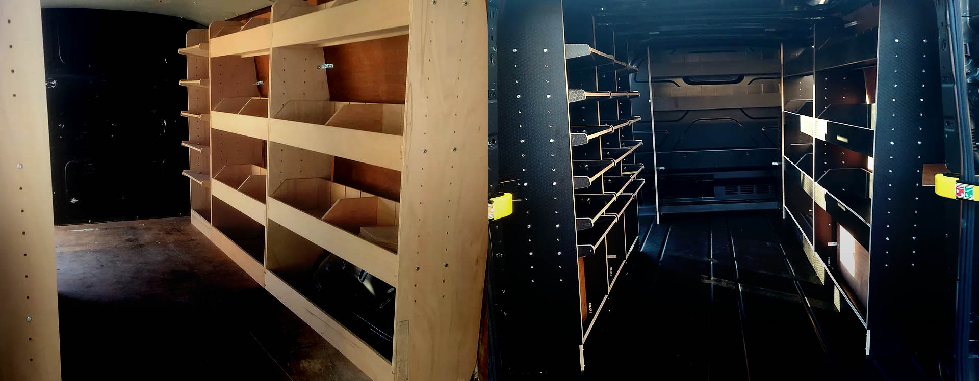 Van racking solutions
