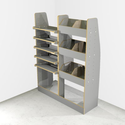 Mercedes Vito Long Rack +Tool box storage