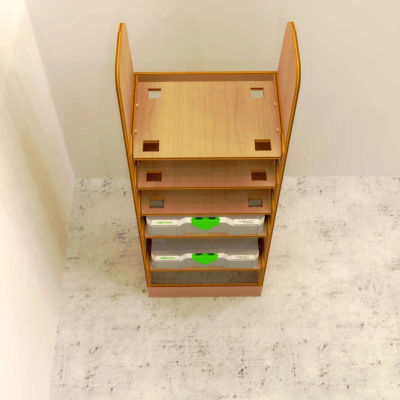 Festool/Tanos/Systainer plywood storage rack
