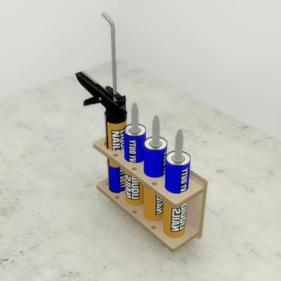 Sealant Gun and Tube holder