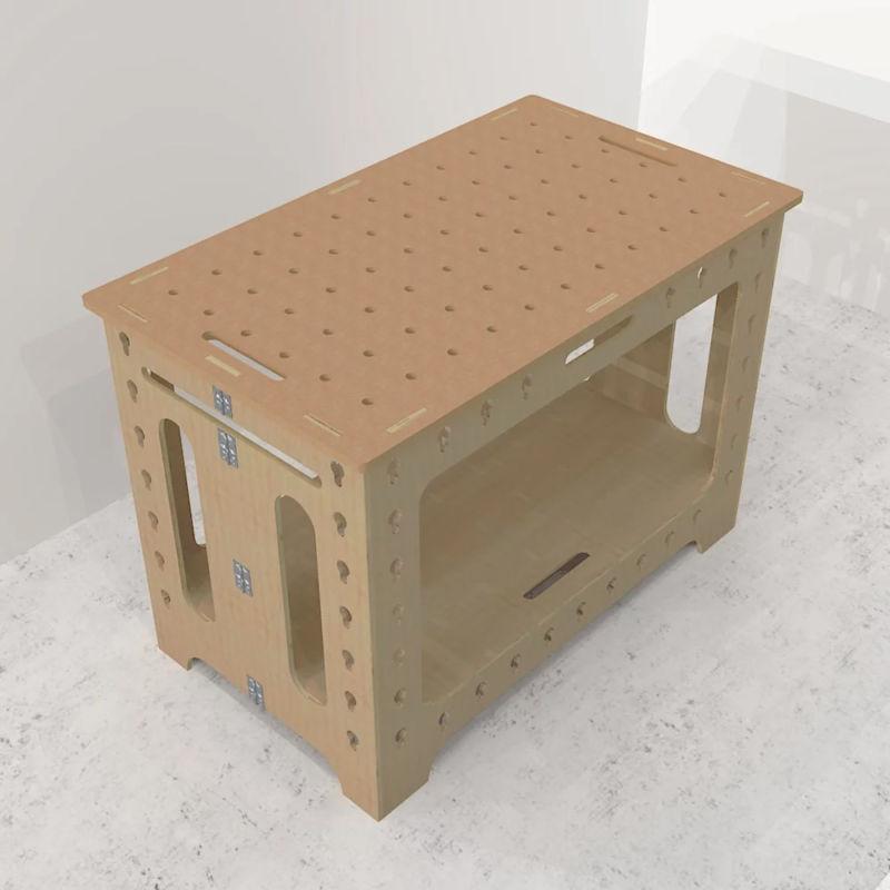 Portable Folding Workbench - VANRACK