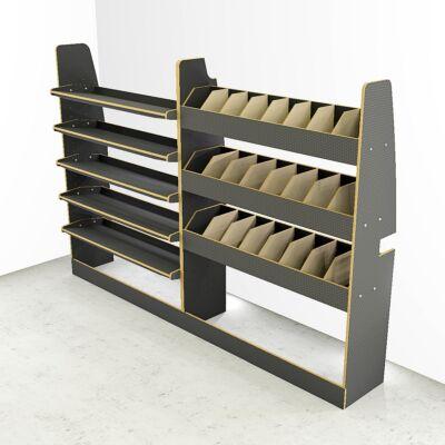 Transit Custom SWB Rack + Toolbox storage